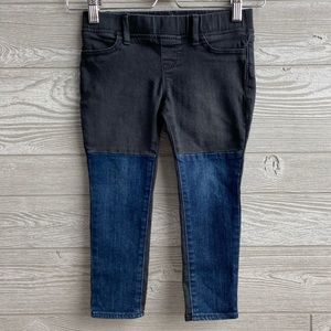 GapKids two-tone jeggings
